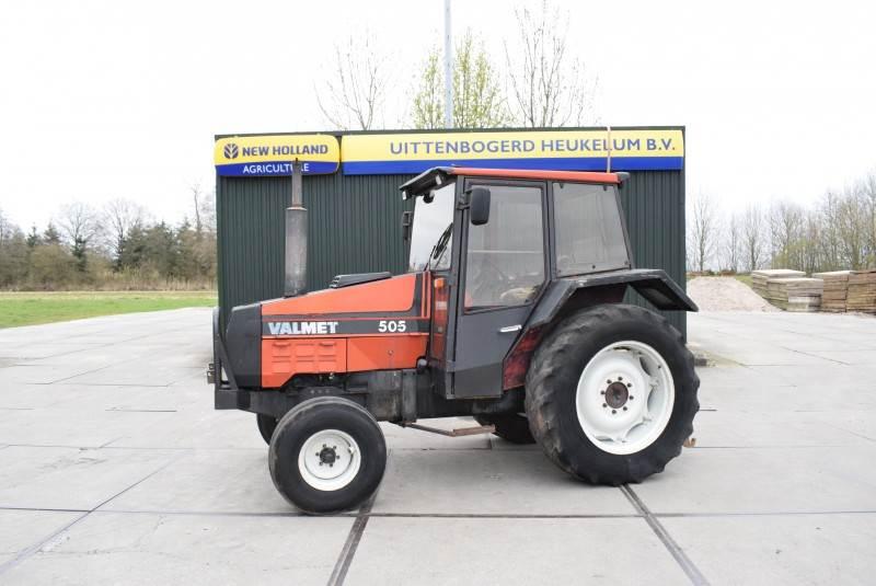 Valmet 505, Tractoren, Landbouw