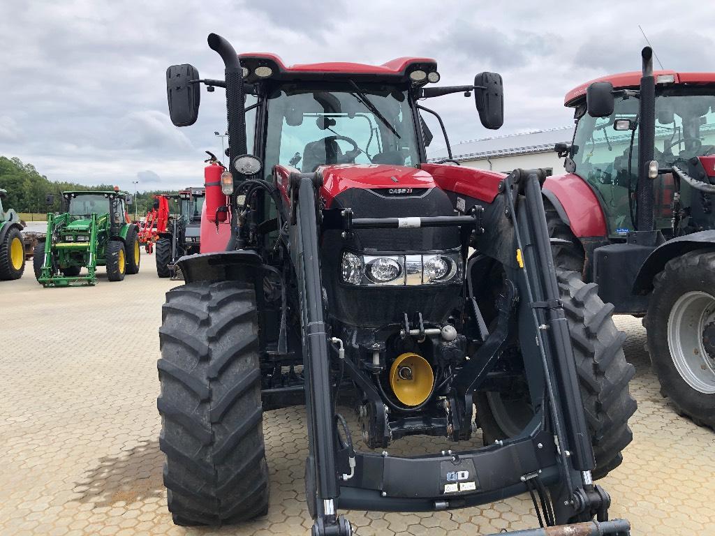 Case IH Maxxum 135 CVX, FLP Ålö Q56, Traktorer, Lantbruk