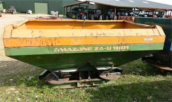 Amazone ZA-U1801, Minerālmēslu izkliedētāji, Lauksaimniecība