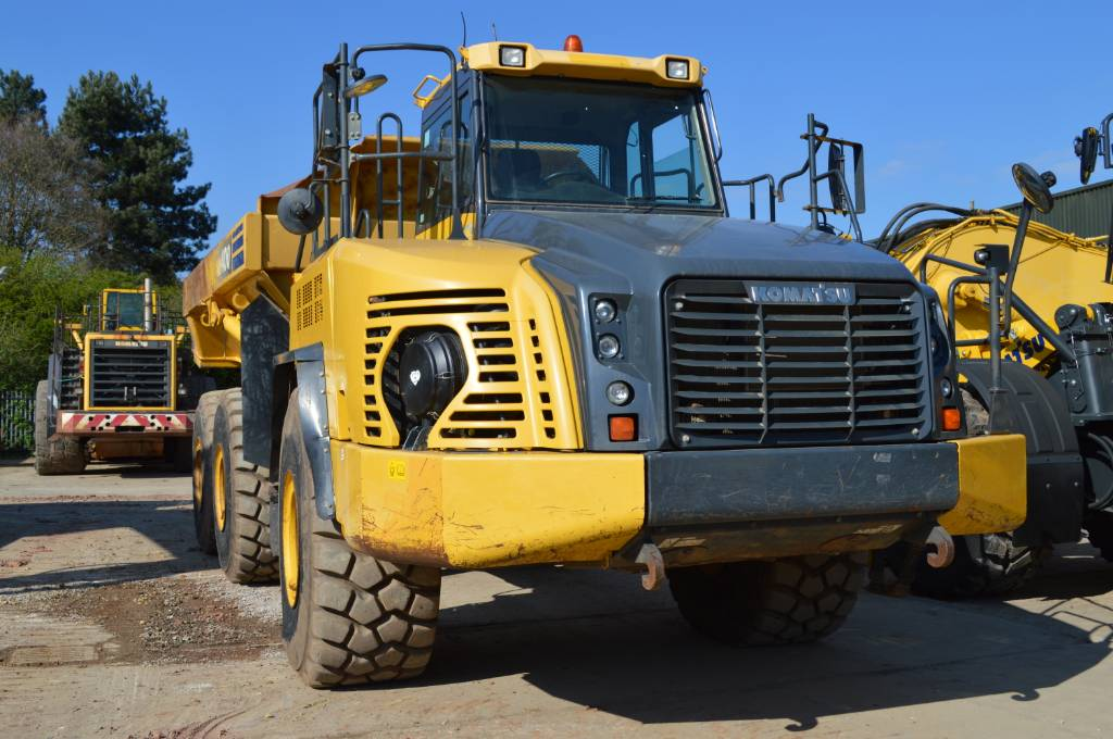 Komatsu HM400-3, Articulated dump trucks, Construction Equipment