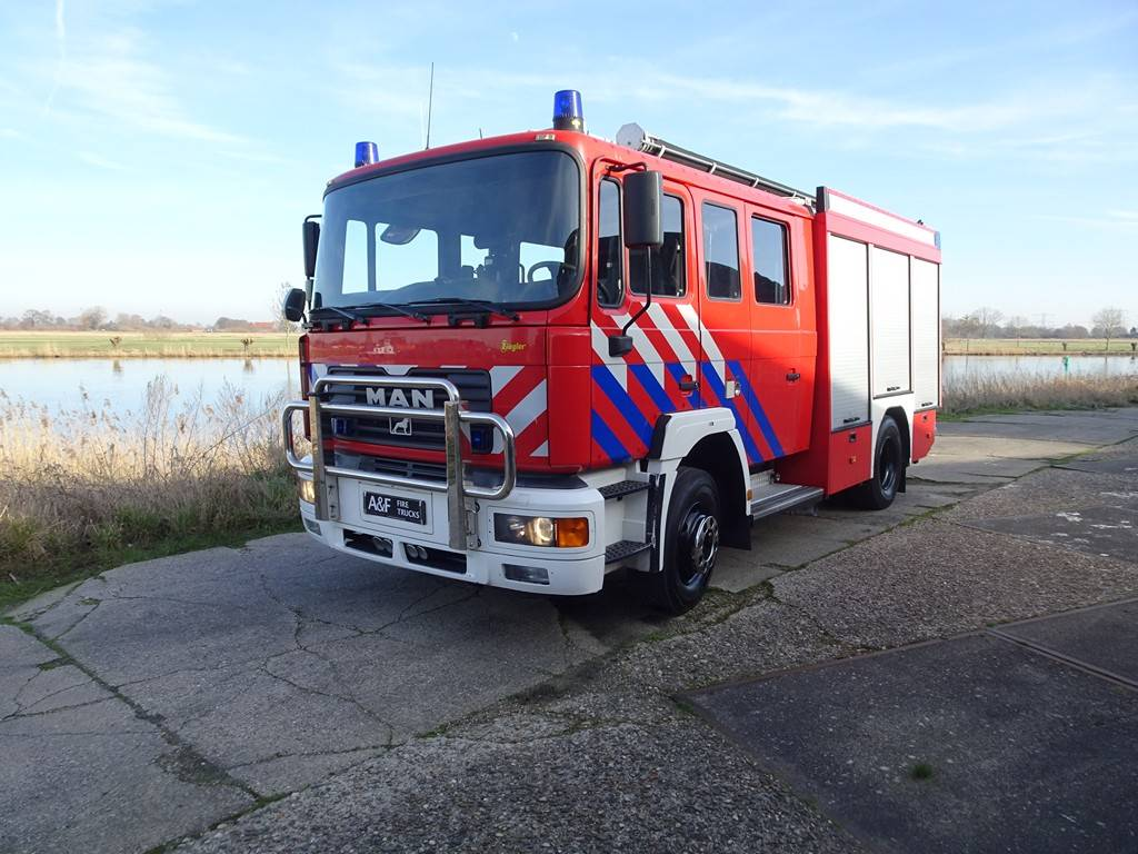 MAN 14-245 Ziegler incl. equipment, Fire trucks, Transportation