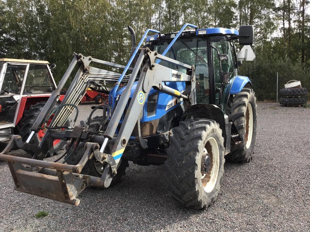 New Holland TS 115 A, Traktorer, Lantbruk