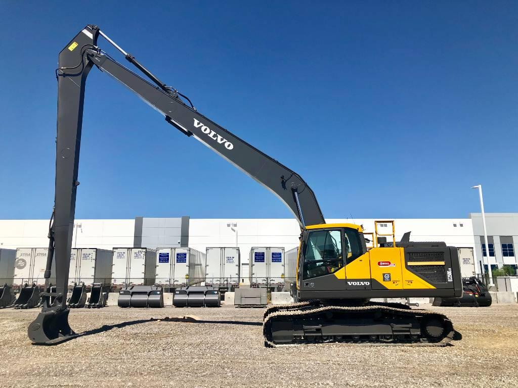 Volvo EC250ELR, Crawler Excavators, Construction Equipment