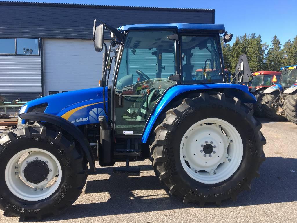 New Holland TL 100 A, Traktorit, Maatalous