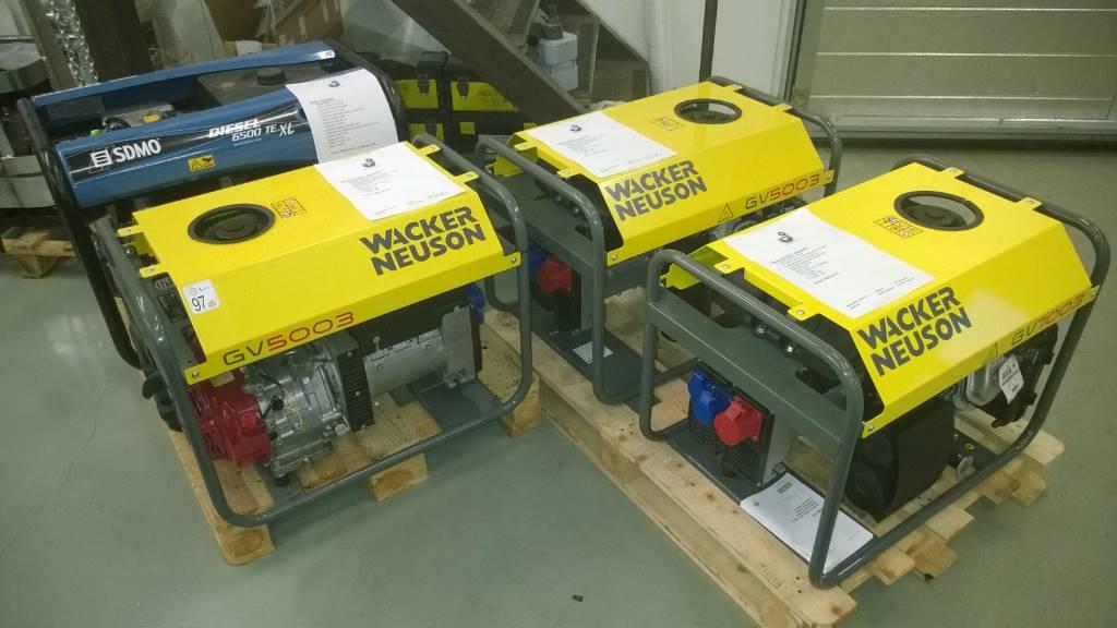 Wacker Neuson Generaattorit, Bensiinigeneraattorit, Maarakennus