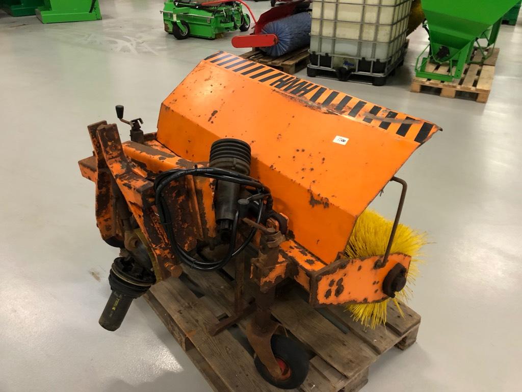 HWH Kost 125, Kompakttraktor tilbehør, Have & Park