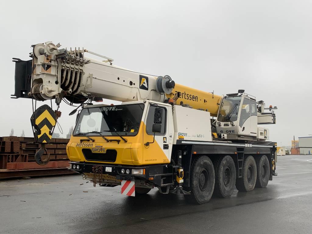 Grove GMK 4080, All terrain cranes, Construction