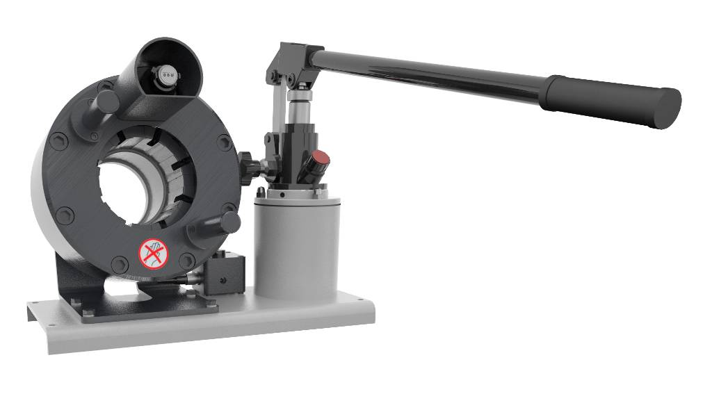 Techmaflex Manuell Slangpress Hcrimp-137, Hydraulik, Skogsmaskiner