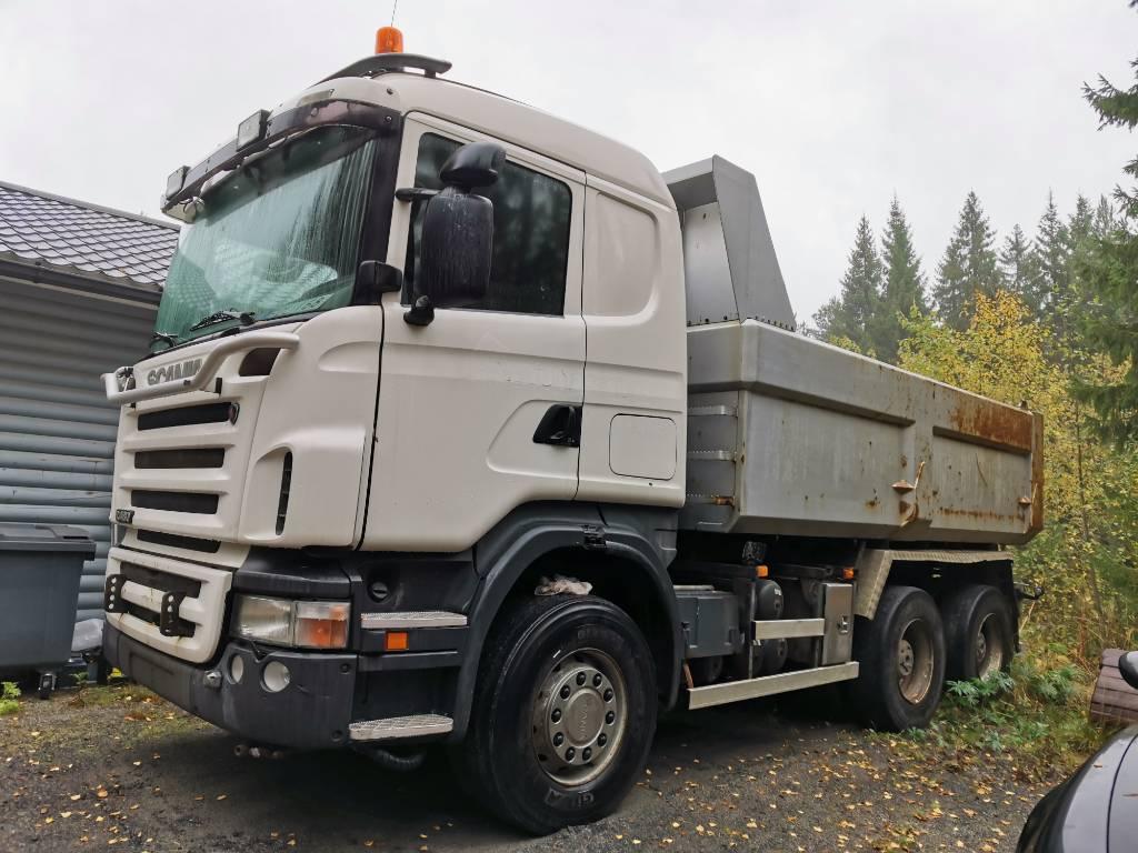 Scania R 480, Sora- ja kippiautot, Kuljetuskalusto