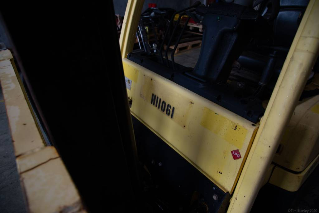 Hyster H2.5CT, LPG counterbalance Forklifts, Material Handling