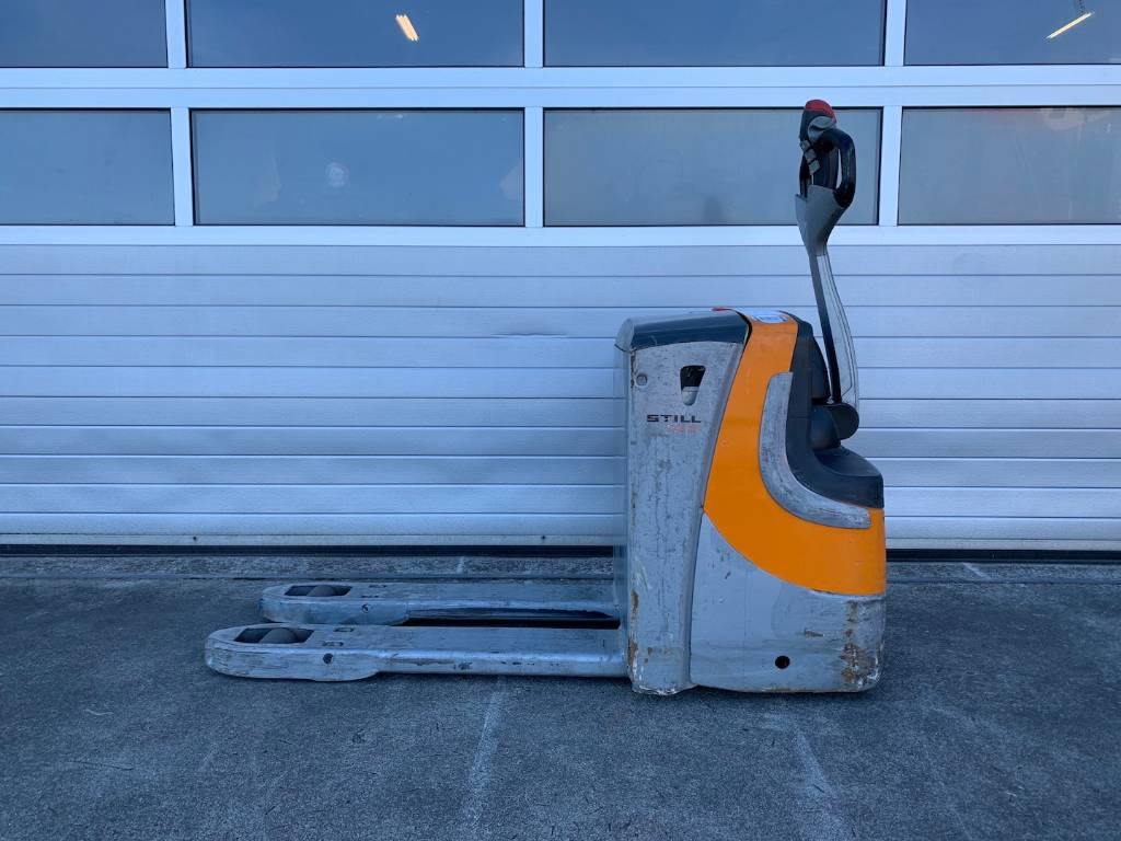 Still 2 ton elektrische palletwagen Still EXU 20, Electro-pallettrucks, Laden en lossen
