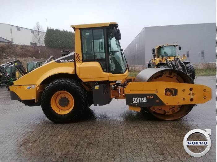 Volvo SD 135 B, Pneumatic tired rollers, Construction Equipment