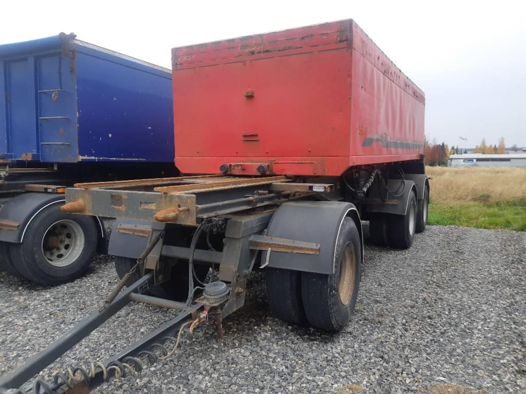 Wiler Kasettiperävaunu WTK 3110, Sora- ja kippiperävaunut, Kuljetuskalusto