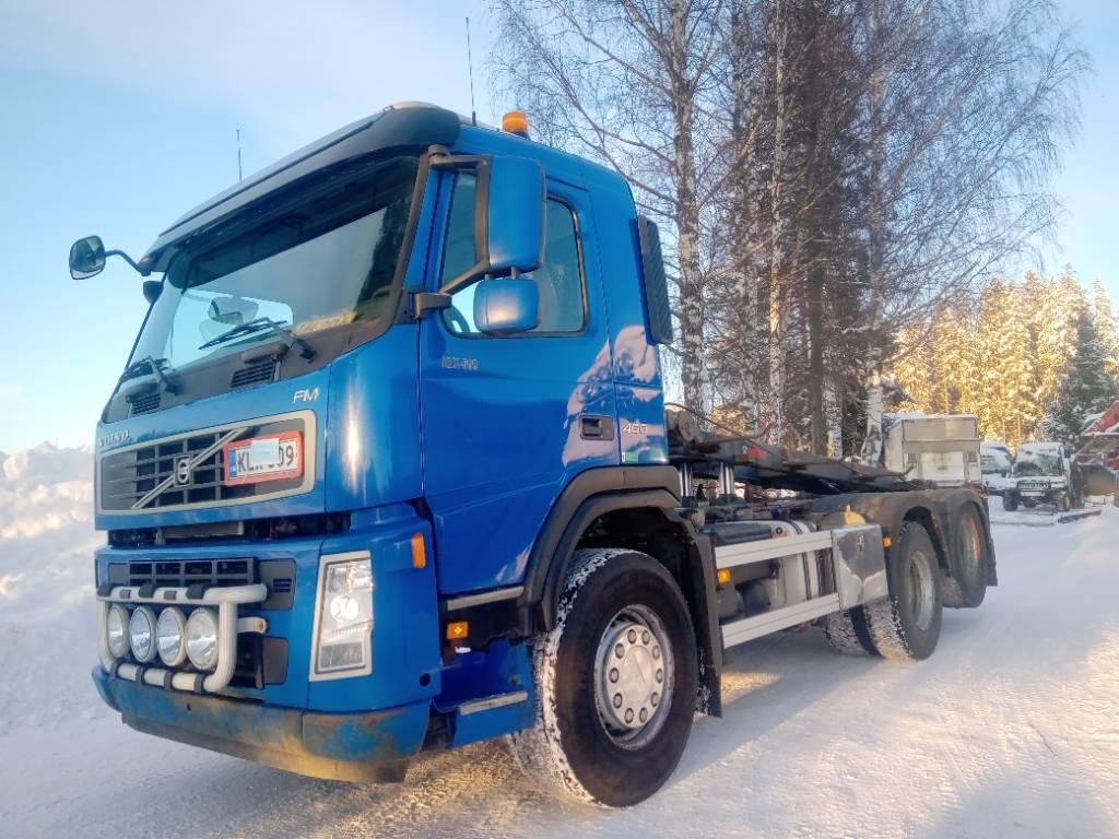 Volvo FM460 6x2 av3900 multilift laite,euro 5, Vaihtolava-autot, Kuljetuskalusto
