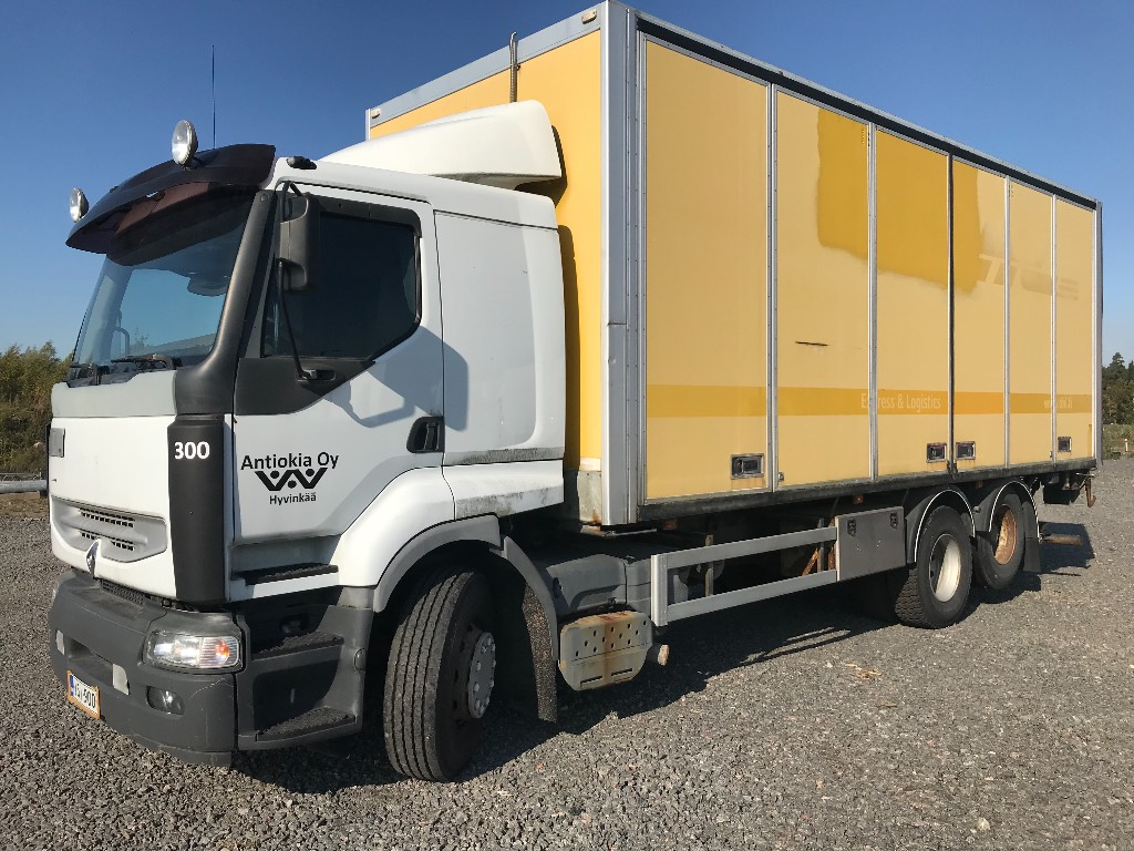 Renault Premium DCI420 6x2 2 tasolastaus sivuaukeava kori, Umpikorikuorma-autot, Kuljetuskalusto