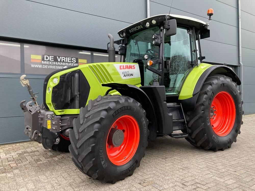 CLAAS ARION 650 Cebis C-Matic, Tractors, Agriculture