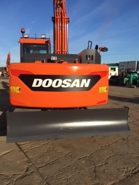 Doosan DX 140 LC-5, Uthyres, Bandgrävare, Entreprenad