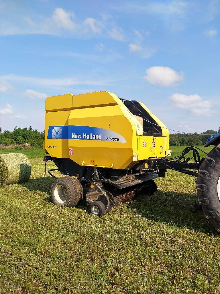 New Holland BR 7070 RC, Ruloonpressid, Põllumajandus