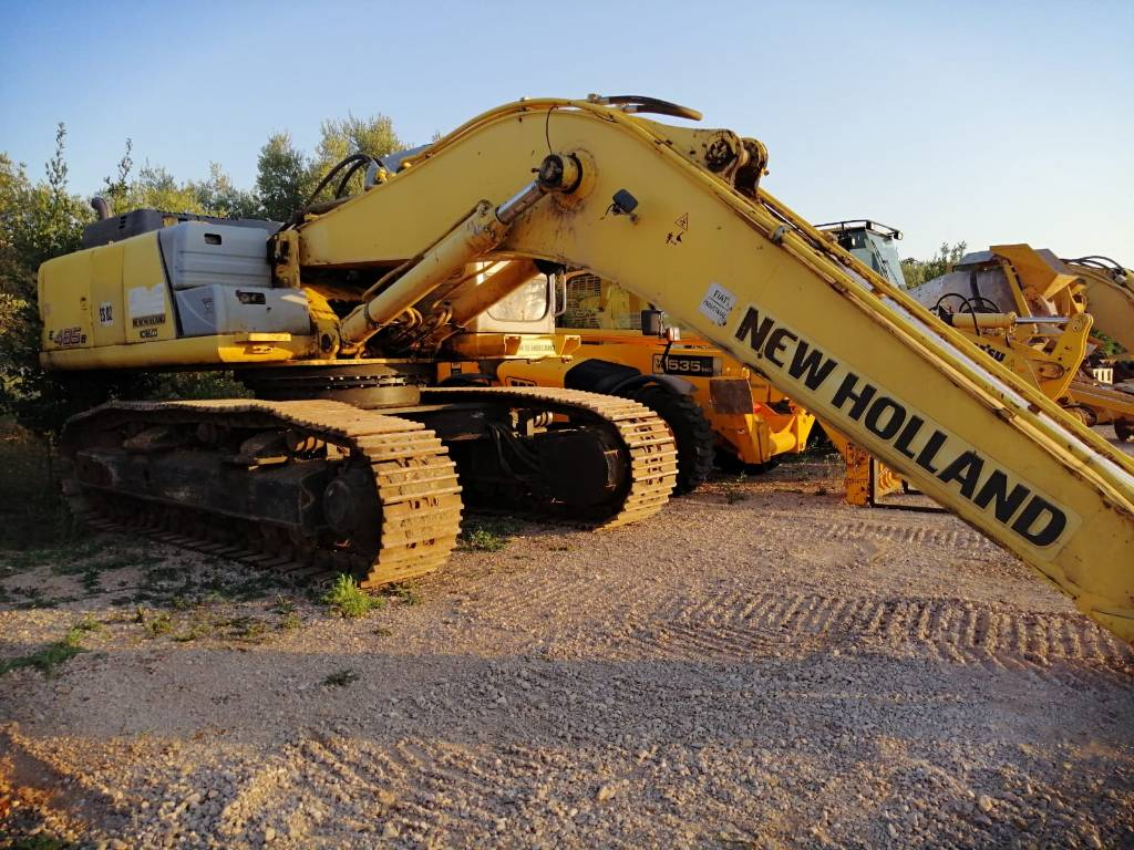 New Holland E 485 B, Crawler Excavators, Construction Equipment