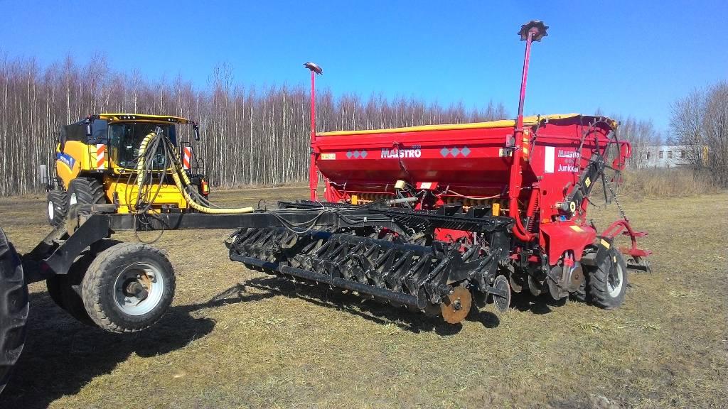 Junkkari Maestro 4000, Külvik-äkked, Põllumajandus