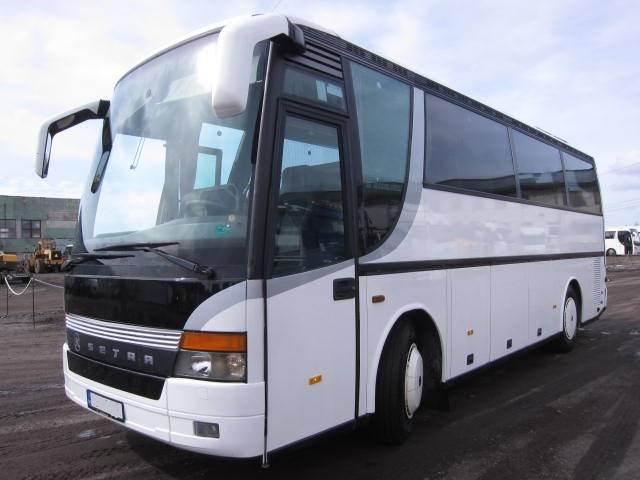 Setra S309HD, Kaugsõidubussid, Transport
