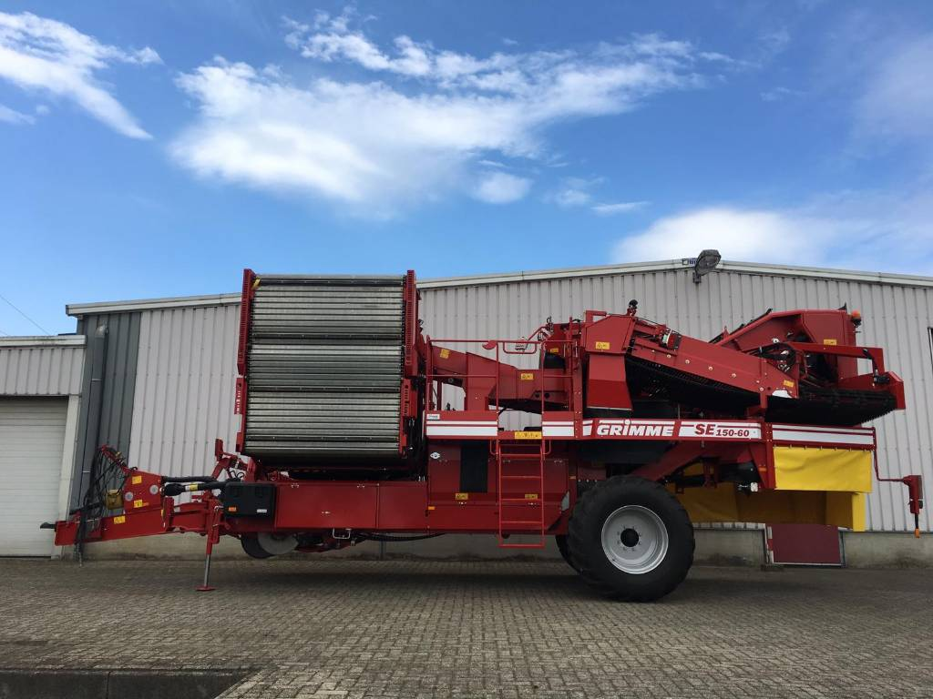 Grimme SE 150-60 UB, Aardappelrooiers, Landbouw