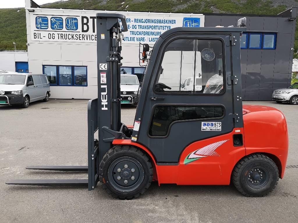 Heli CPCD35 (G2) - 3,5 t diesel - 3,3 m LH (SOLGT), Diesel Trucker, Truck