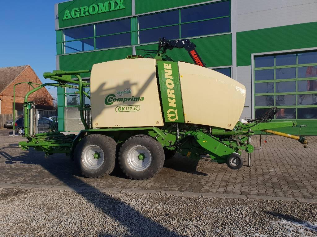 Krone Comprima CV 150 XC, Prasy zwijające, Maszyny rolnicze