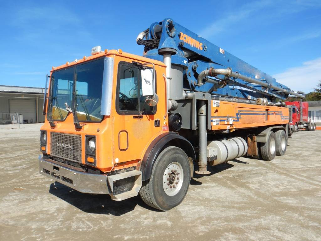 Schwing 41M, Boom Pumps, Construction Equipment