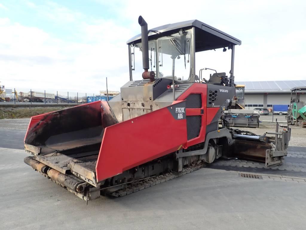 Volvo P7820C, Asphalt pavers, Construction Equipment