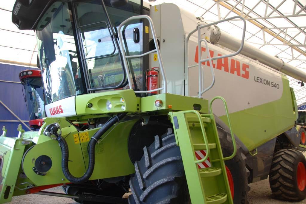 CLAAS Lexion 540, Kombainid, Põllumajandus