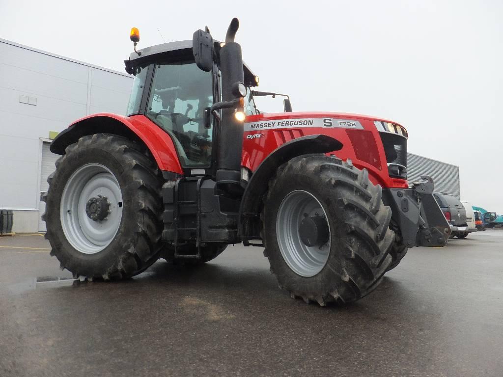Massey Ferguson 7726, Traktoriai, Žemės ūkis