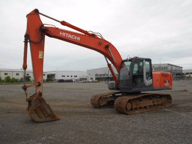 Hitachi ZX200-3, Crawler excavators, Construction