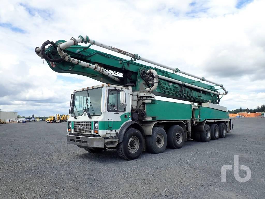 Putzmeister BSF 58.16H, Boom Pumps, Construction Equipment