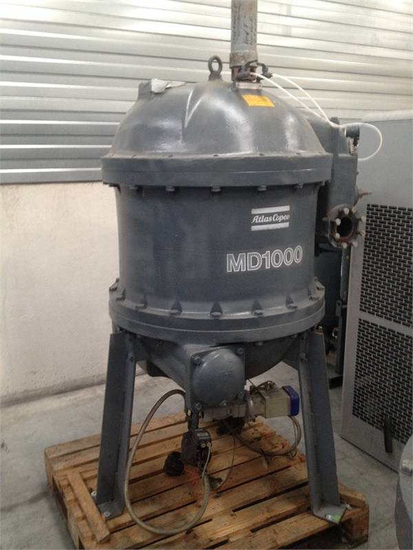 Atlas Copco MD 1000 W, Compressed air dryers, Industrial