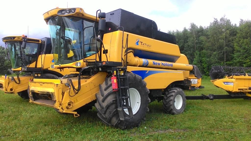 New Holland CSX 7070, Kombainid, Põllumajandus