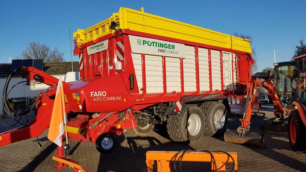 Pöttinger FARO 4010 D COMBILINE, Remorque autochargeuse, Agricole