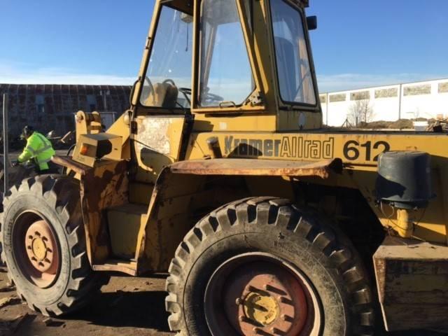Kramer-allrad 612, Wheel Loaders, Construction Equipment