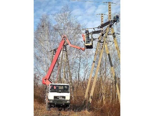 Wumag WT170H MAN 4x4, Podnośniki koszowe, Maszyny budowlane