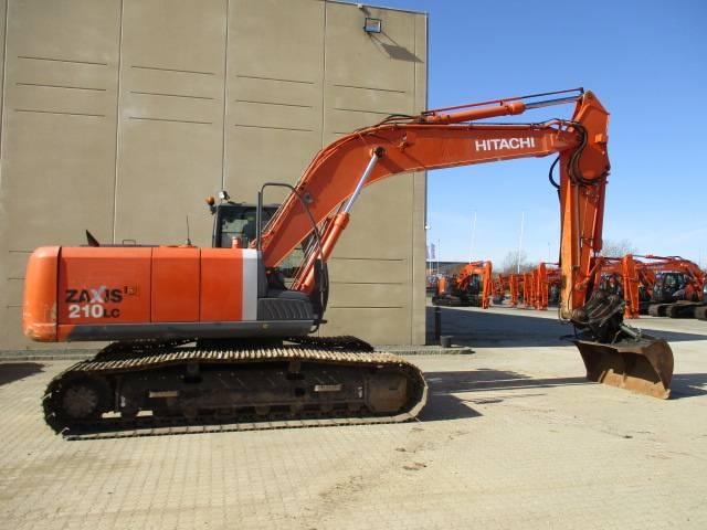 Hitachi ZX 210 LC-3, Crawler Excavators, Construction Equipment