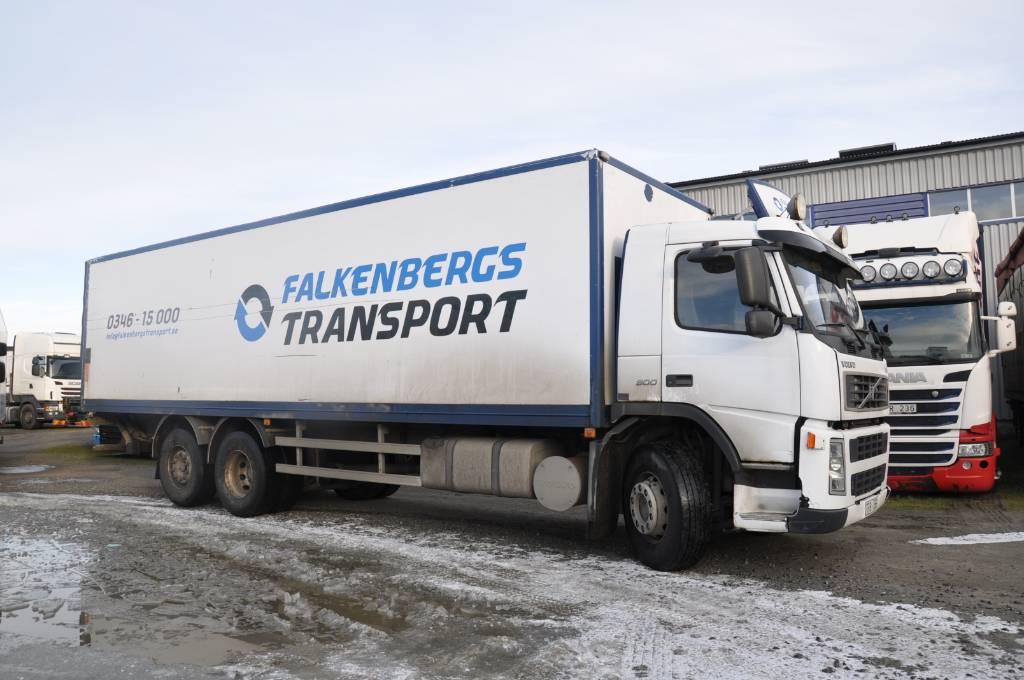 Volvo FM300 6X2, Skåpbilar, Transportfordon