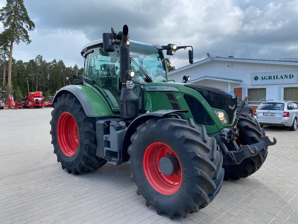 Fendt 724 Vario SCR Profi Plus, Traktorid, Põllumajandus