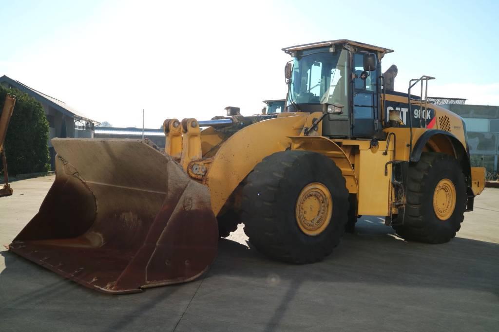 Caterpillar 980K, Wheel Loaders, Construction Equipment