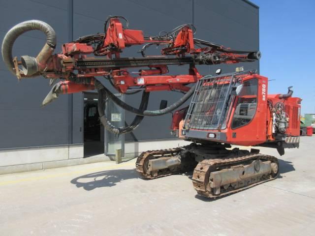 Sandvik DX 780, Surface drill rigs, Construction