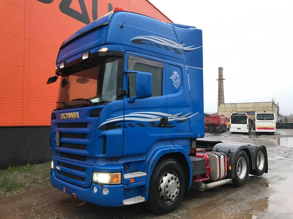 Scania R 500 Manual Retarder, Conventional Trucks / Tractor Trucks, Trucks and Trailers