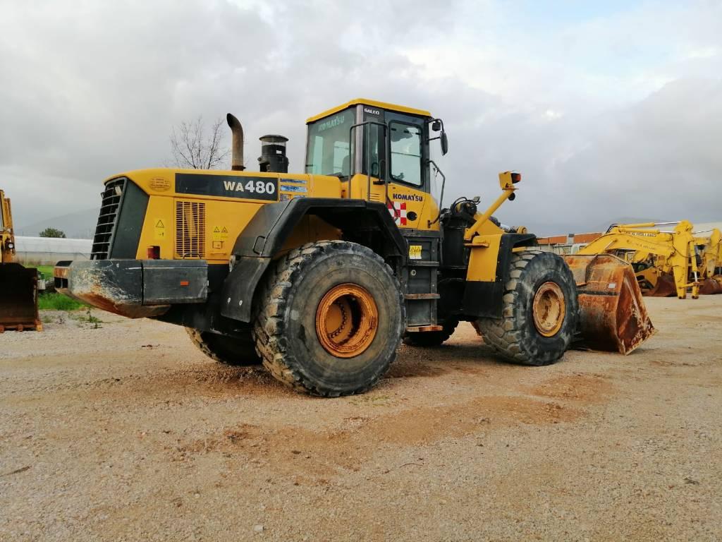 Komatsu WA480-5H, Wheel Loaders, Construction Equipment
