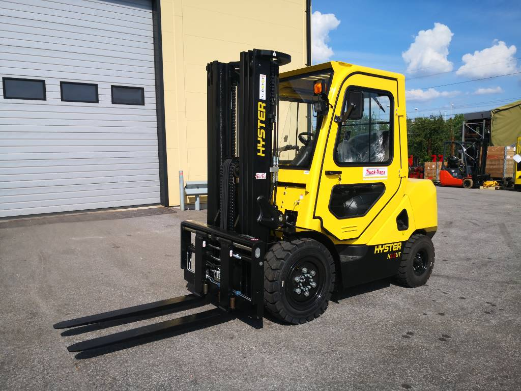 Hyster H3.5UT, Diesel counterbalance Forklifts, Material Handling