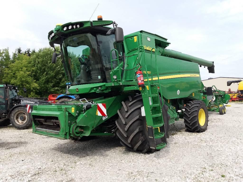 John Deere T 670 i, Kombainid, Põllumajandus
