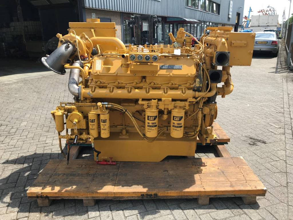 Caterpillar 3412 D IT - Marine Propulsion - 458 kW - 60M, Marine Applications, Construction