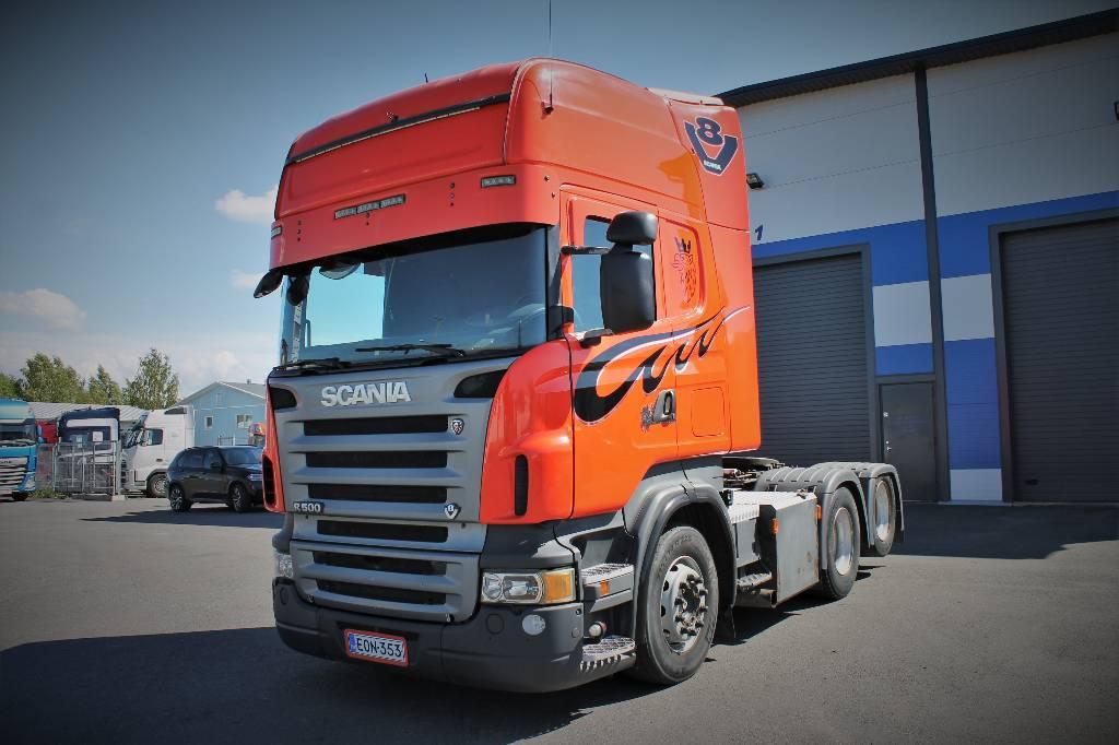 Scania R 500, Vetopöytäautot, Kuljetuskalusto